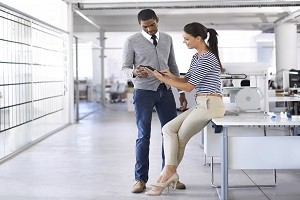 Talent acquisition success is dependent on a human touch (iStock/Yuri_Arcurs)