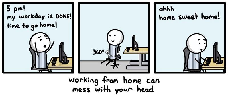 remote work copy